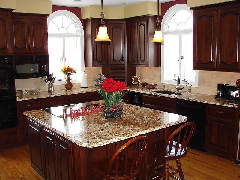 21 Dark Cabinet Kitchen Designs-10