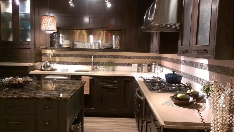 21 Dark Cabinet Kitchen Designs-11