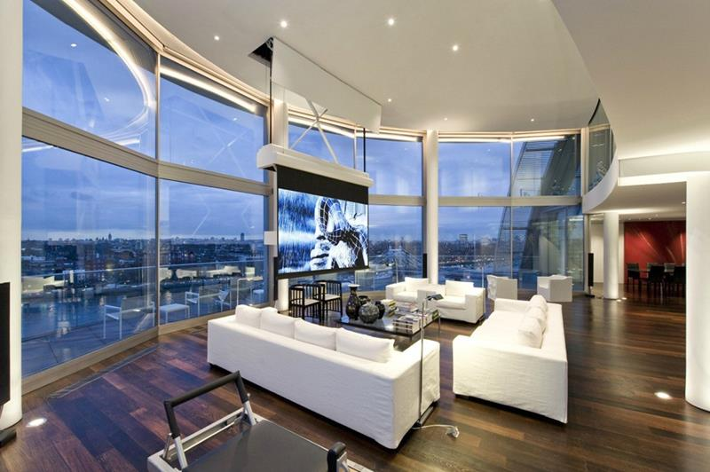 21 Living Rooms With Huge Picture Windows-4