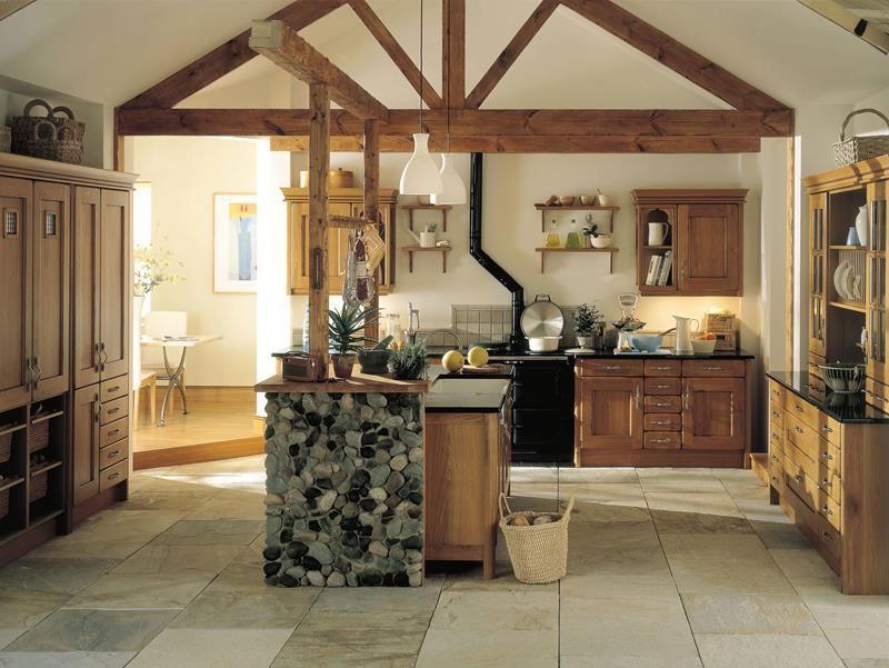 24 Country Kitchen Designs-13