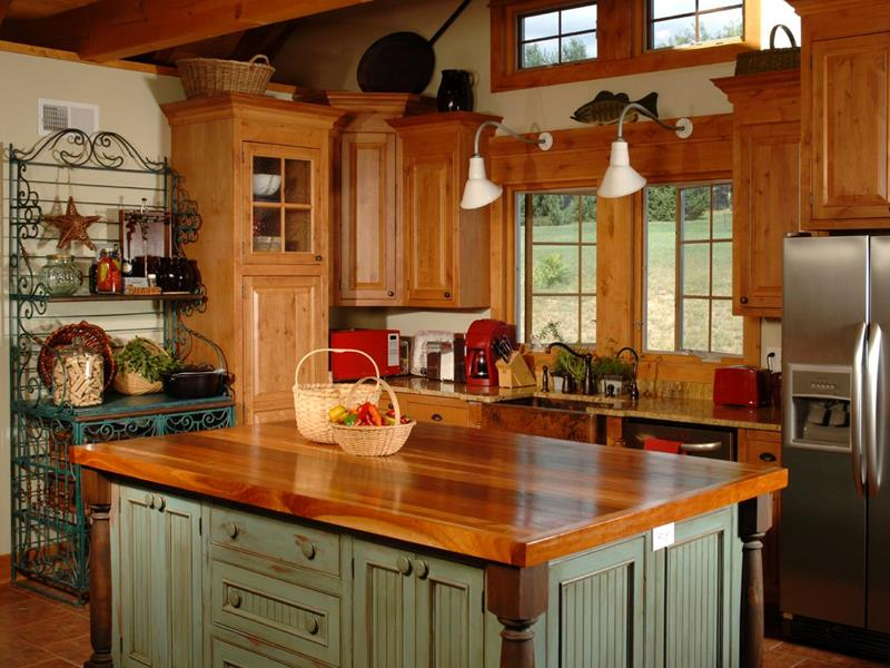 24 Country Kitchen Designs-18