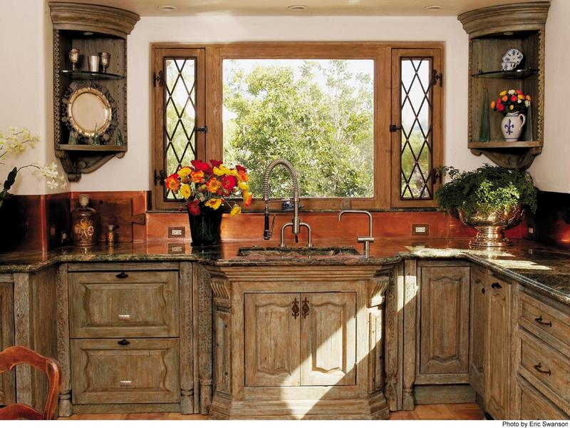 24 Country Kitchen Designs-22