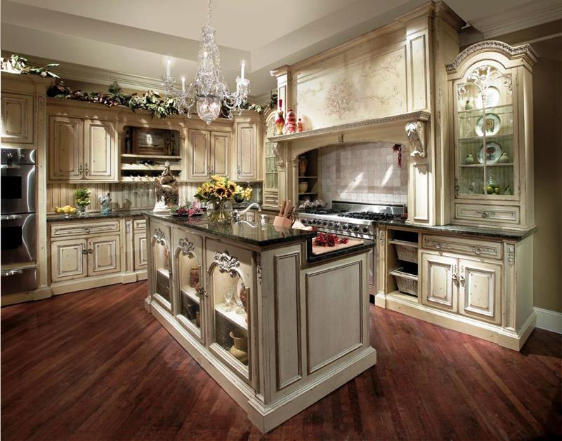 24 Country Kitchen Designs-title
