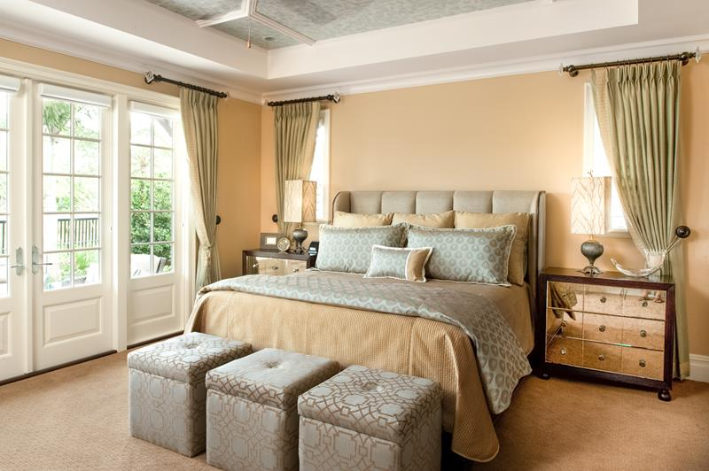 24 Stylish Master Bedrooms With Carpet-12