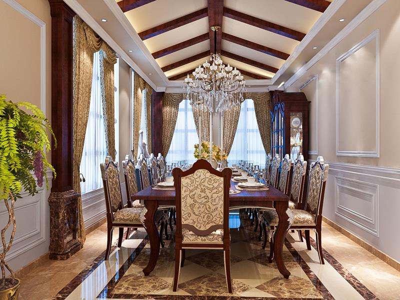 25 Luxurious Dining Room Designs-10