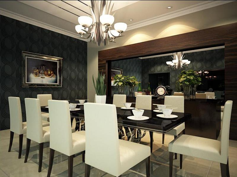 25 Luxurious Dining Room Designs-4