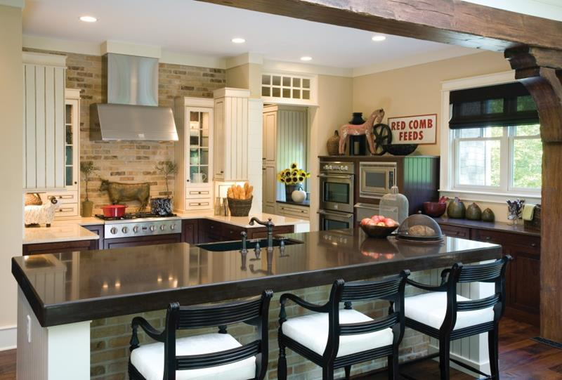 26 Stunning Kitchen Island Designs-10