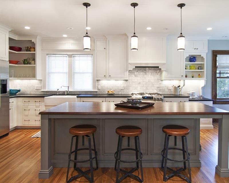 26 Stunning Kitchen Island Designs-13