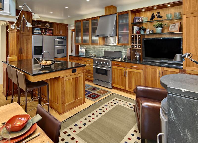 26 Stunning Kitchen Island Designs-14