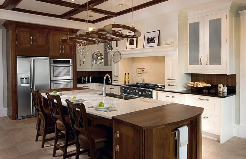 26 Stunning Kitchen Island Designs-22