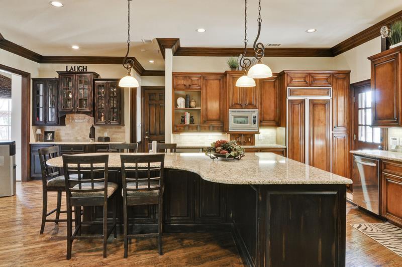 26 Stunning Kitchen Island Designs-25