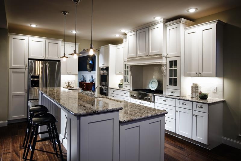 26 Stunning Kitchen Island Designs-4