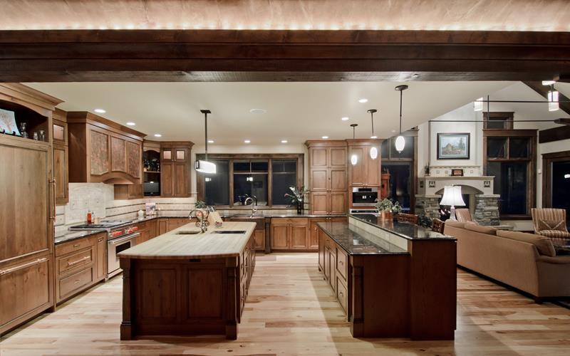 26 Stunning Kitchen Island Designs-7