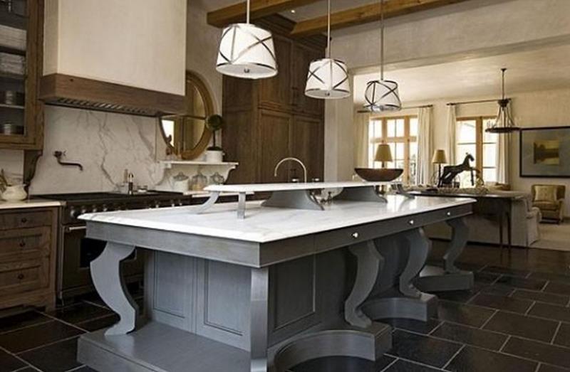 26 Stunning Kitchen Island Designs-9