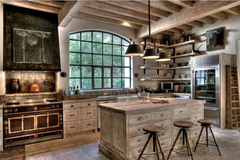 27 Rustic Kitchen Designs-1