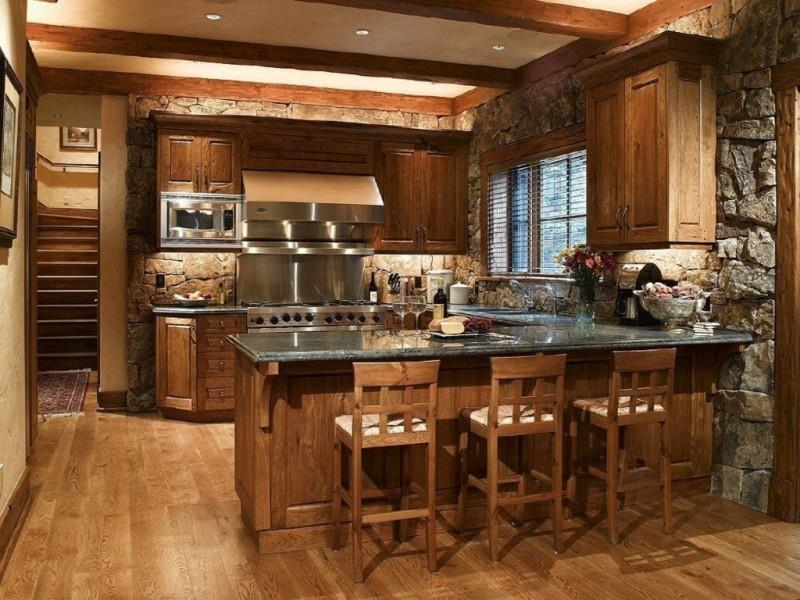 27 Rustic Kitchen Designs-15