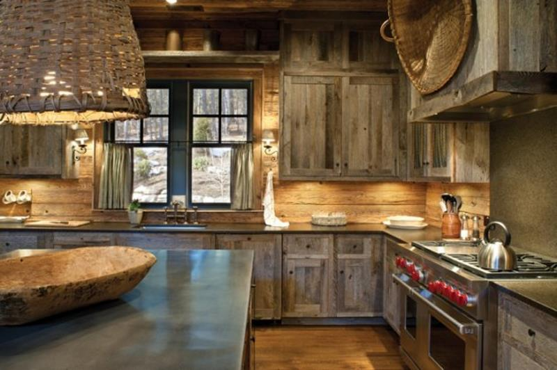 27 Rustic Kitchen Designs-2