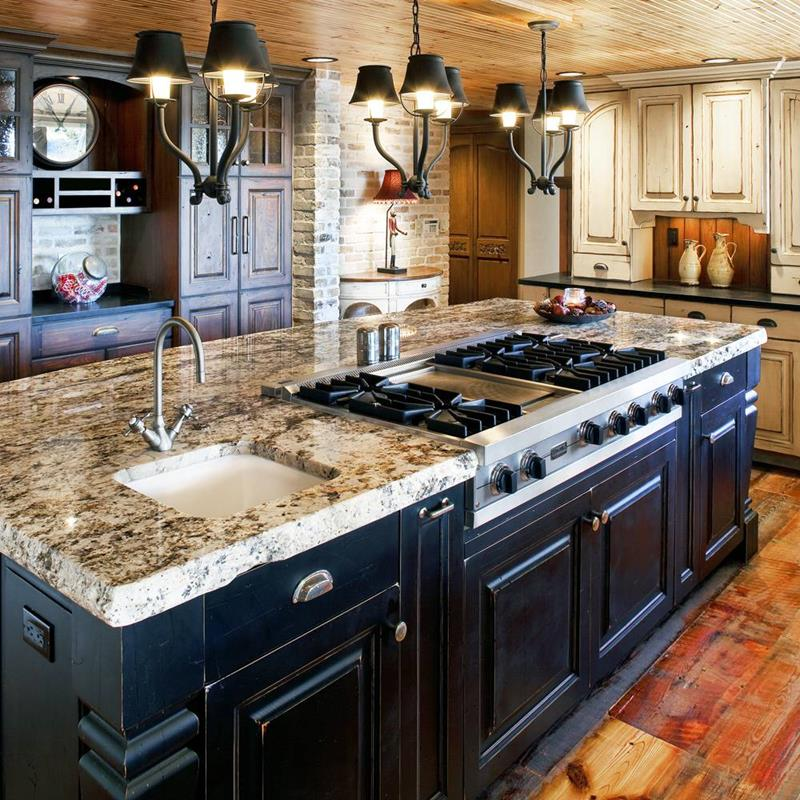 27 Rustic Kitchen Designs-23
