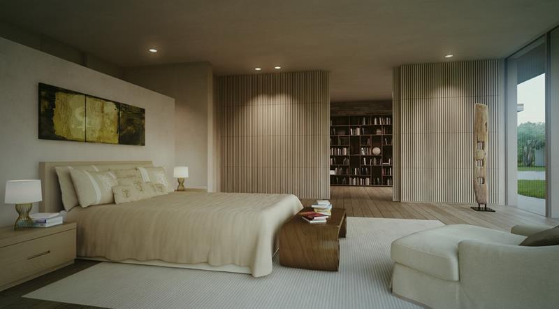 28 Master Bedrooms With Hardwood Floors-17