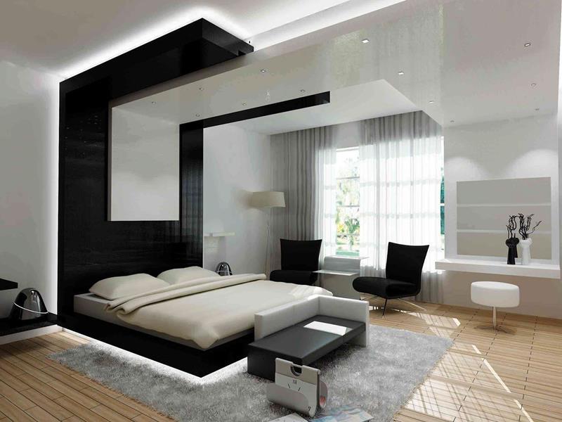 28 Master Bedrooms With Hardwood Floors-28