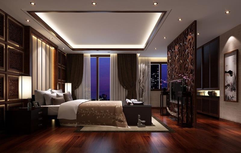 28 Master Bedrooms With Hardwood Floors-8