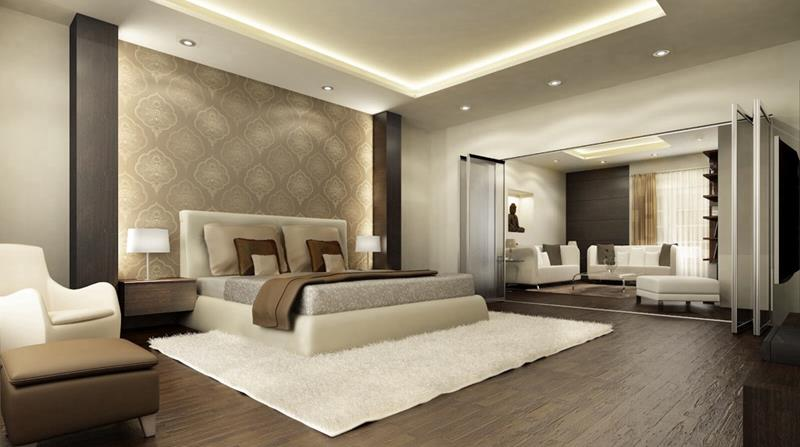 28 Master Bedrooms With Hardwood Floors-9