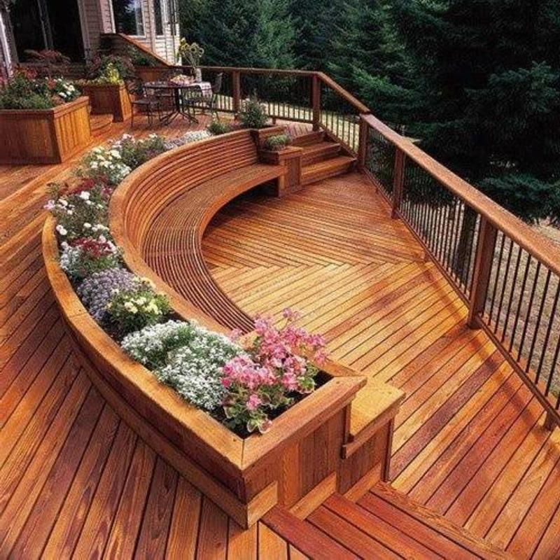 Home Deck Design Ideas: 18 Deck Designs That Are Absolutely Stunning