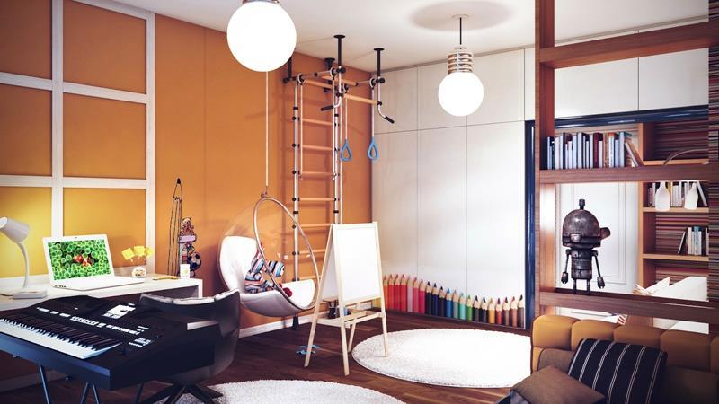 19 Amazing Kids Bedroom Designs-19