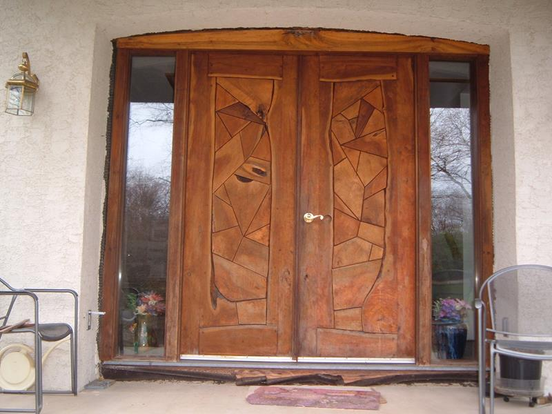 20 Stunning Front Door Designs-1