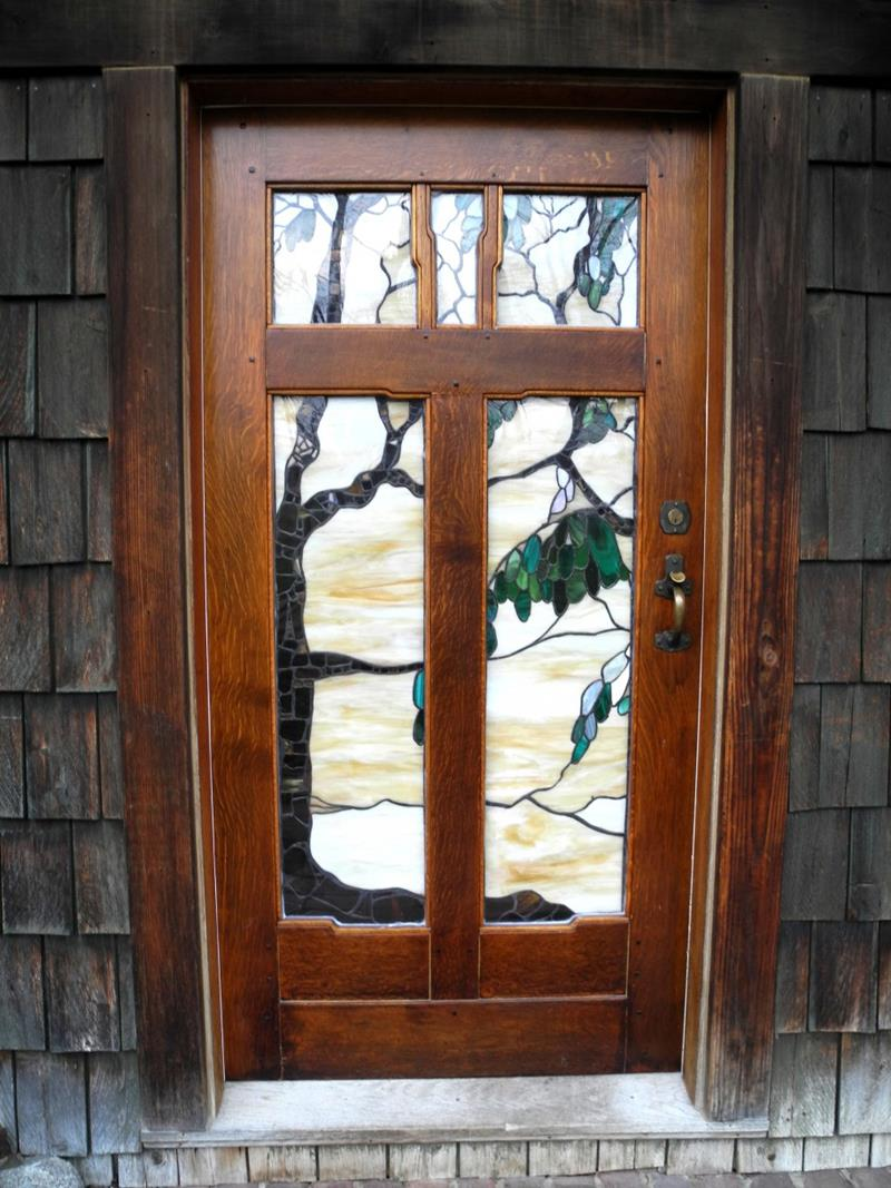 20 Stunning Front Door Designs-17