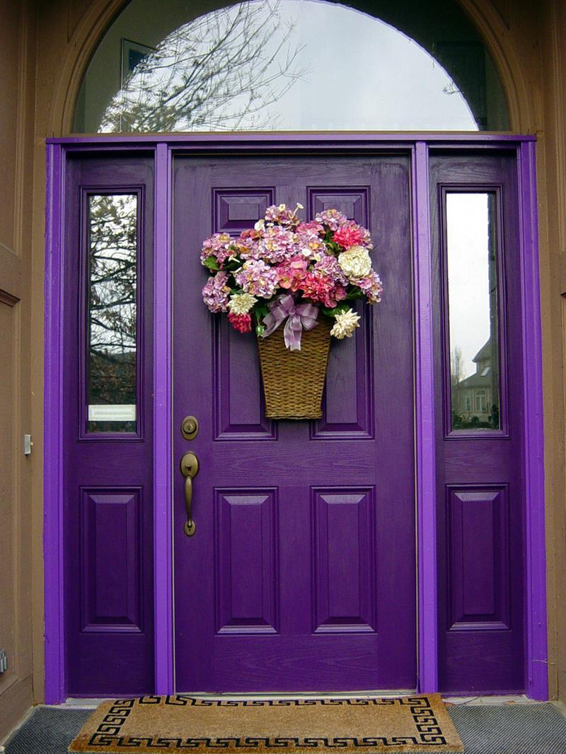20 Stunning Front Door Designs-5