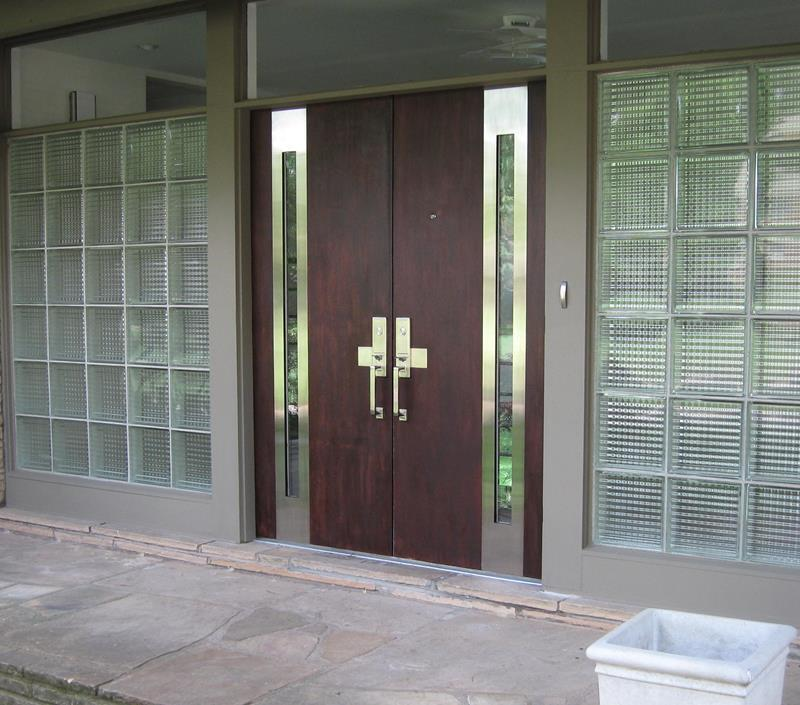 20 Stunning Front Door Designs-6