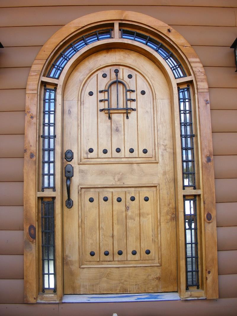 20 Stunning Front Door Designs-8