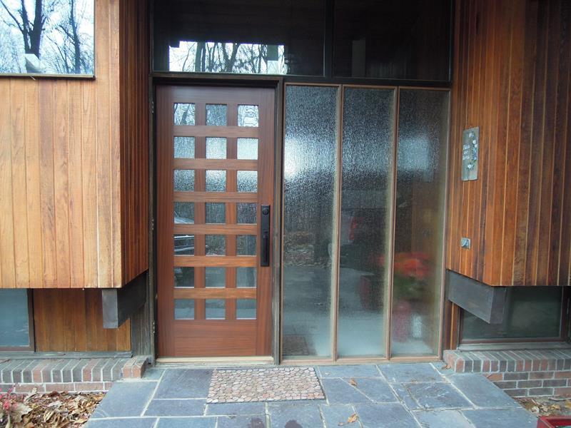 20 Stunning Front Door Designs-9