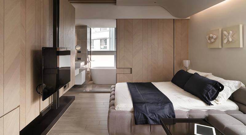 21 Contemporary and Modern Master Bedroom Designs-18