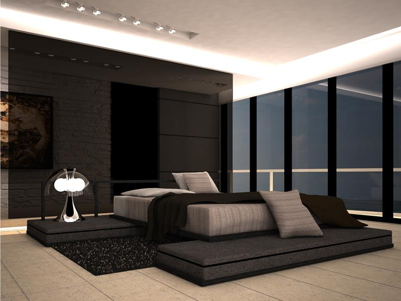 21 Contemporary and Modern Master Bedroom Designs-2