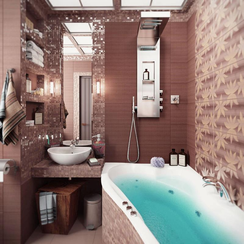 21 Simply Amazing Small Bathroom Designs-13