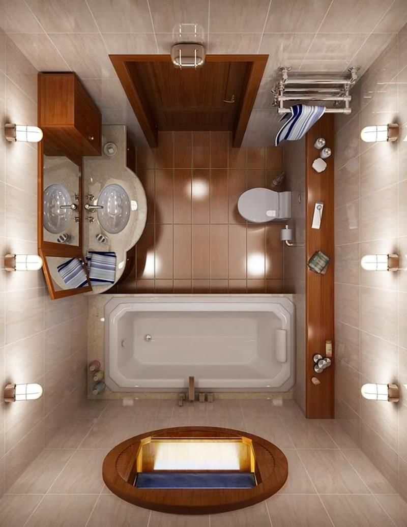 21 Simply Amazing Small Bathroom Designs-3