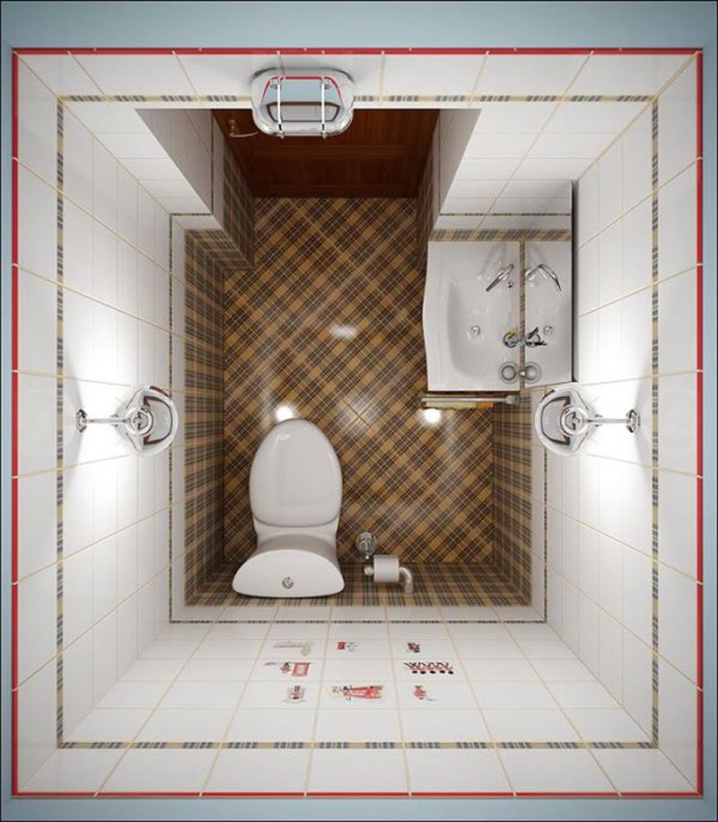 21 Simply Amazing Small Bathroom Designs-7