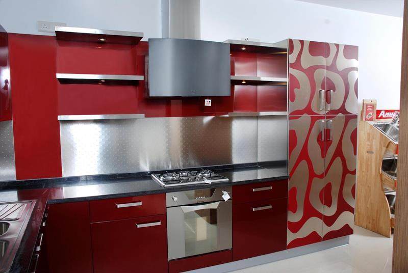 21 Sleek and Modern Metal Kitchen Designs-10