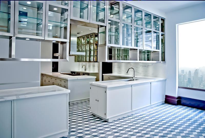 21 Sleek and Modern Metal Kitchen Designs-7
