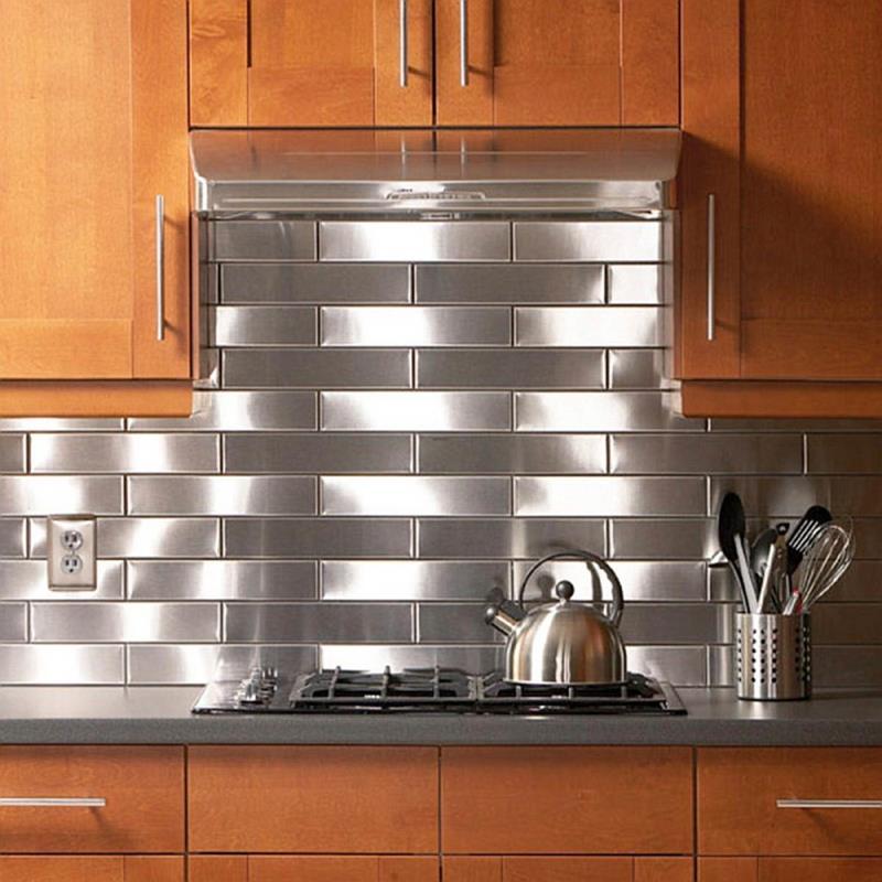 21 Sleek and Modern Metal Kitchen Designs-9