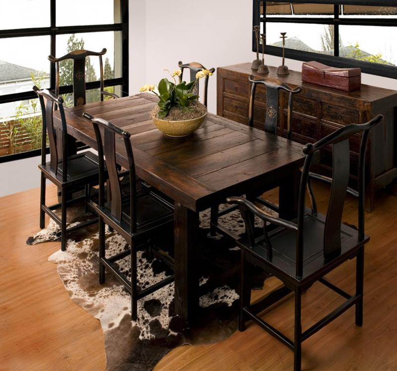 24 Totally Inviting Rustic Dining Room Designs-15