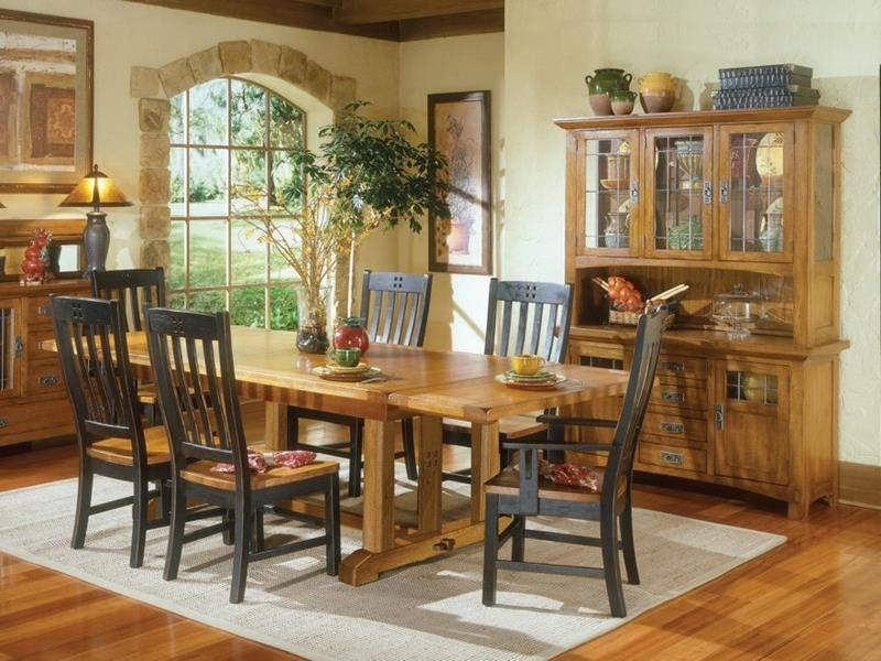 24 Totally Inviting Rustic Dining Room Designs-24