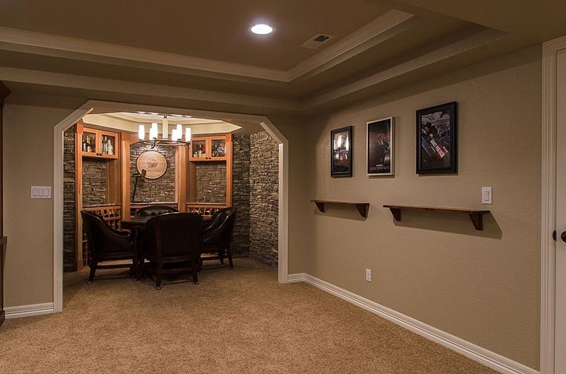 25 Inspiring Finished Basement Designs-1
