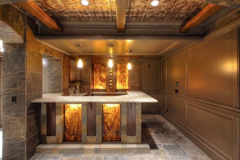 25 Inspiring Finished Basement Designs-12