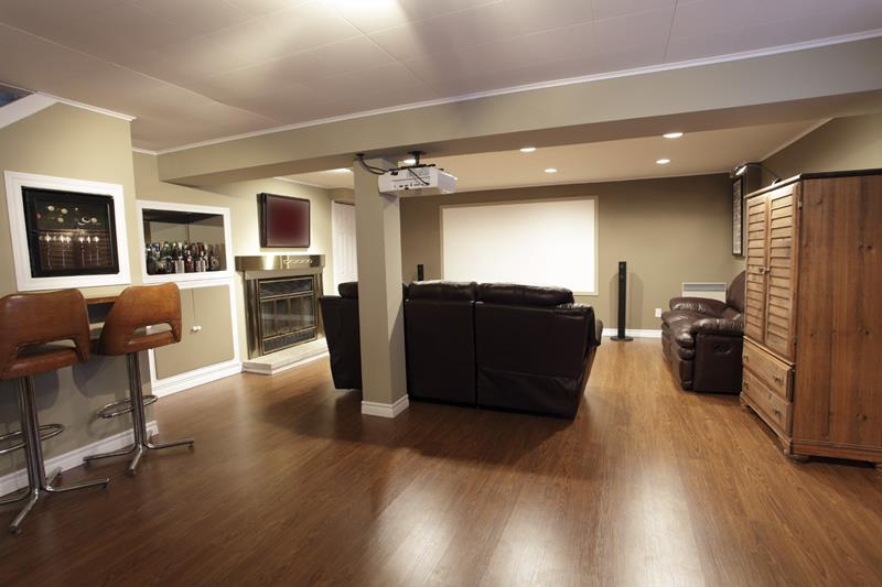 25 Inspiring Finished Basement Designs-3