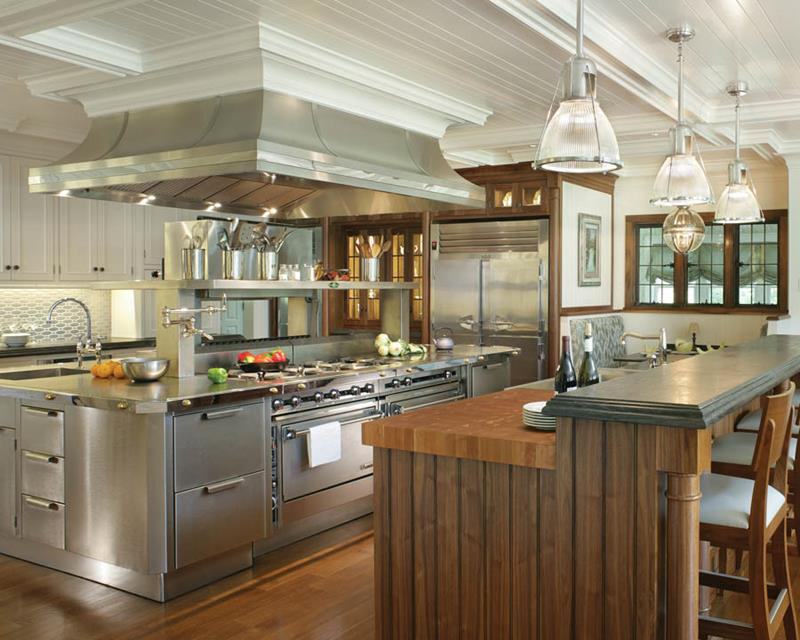 20 Professional Home Kitchen Designs-20