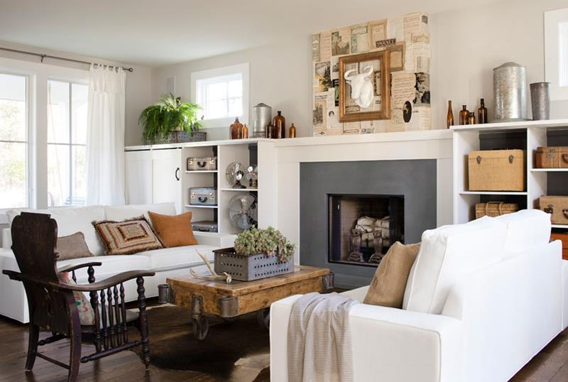 22 Cozy Country Living Room Designs-1