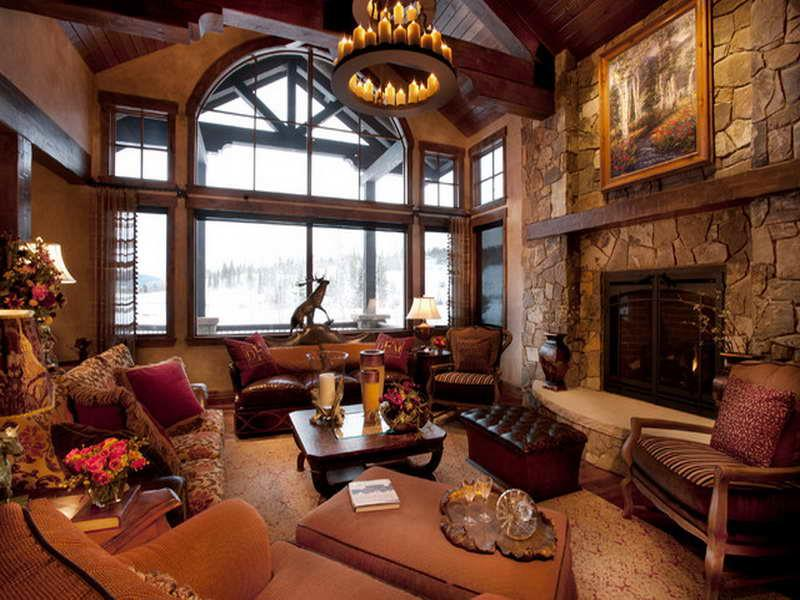 22 Cozy Country Living Room Designs-10